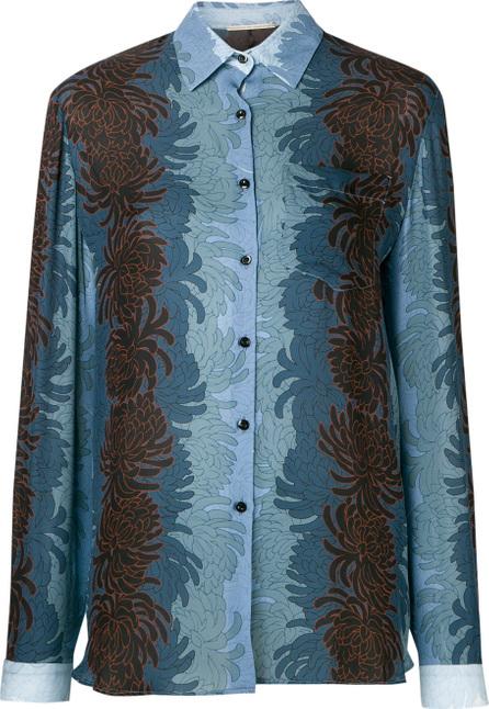 Marco De Vincenzo Floral print shirt
