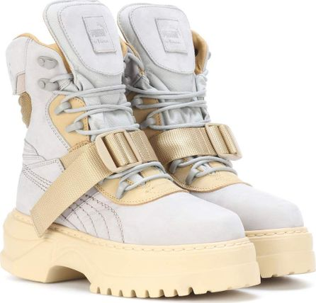 FENTY PUMA by Rihanna Winter nubuck leather boots