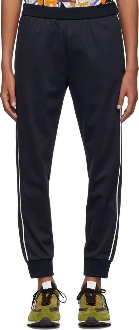Prada Navy Piuma Stripe Lounge Pants