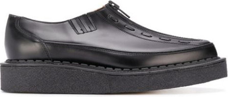 Comme Des Garçons Homme Plus Zipped chunky sole loafers