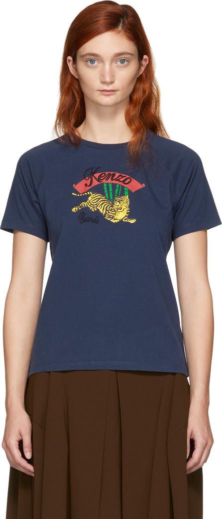 KENZO Navy Limited Edition Jumping Tiger T-Shirt