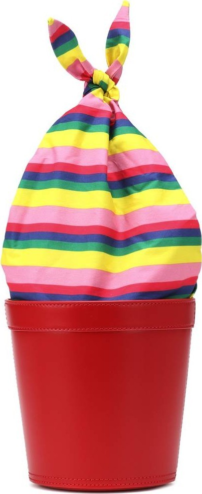 Staud Britt leather bucket bag