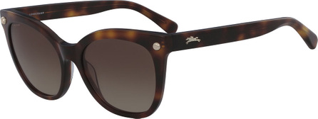Longchamp Cat-Eye Sunglasses w/ Stud Detail
