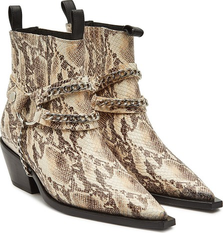 ANINE BING Harris Leather Ankle Boots