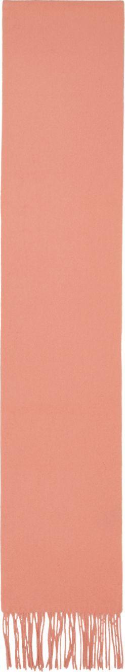 Acne Studios Pink Canada Skinny Scarf