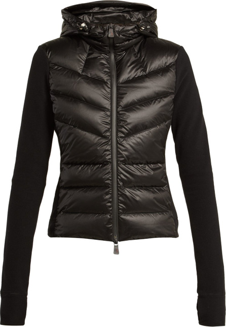 Moncler Contrast-panel quilted jacket