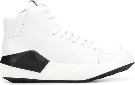 Cinzia Araia Lace-up panelled sneakers
