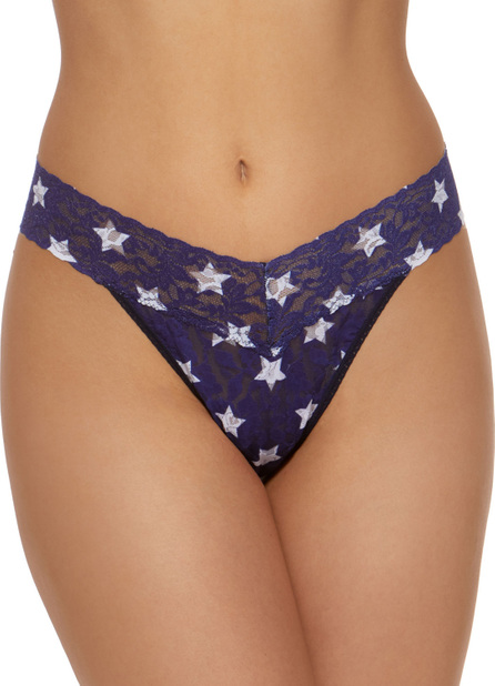 Hanky Panky All Stars Original-Rise Lace Thong