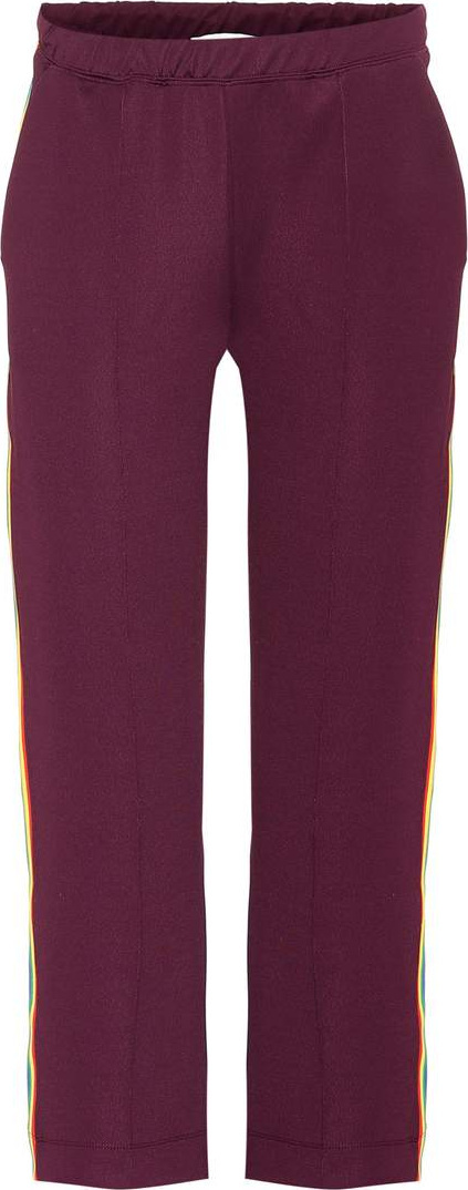 Etre Cecile Retro cropped trackpants