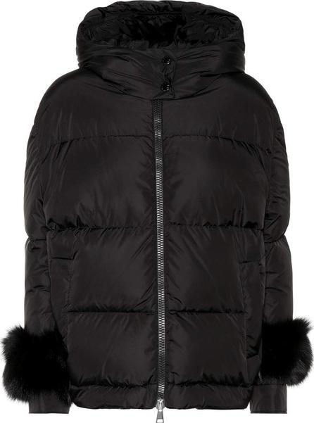 Moncler Effraie fur-trimmed down jacket