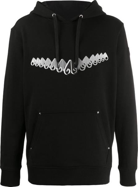 Moose Knuckles Logo print hoodie