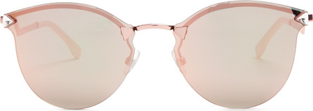 Fendi Cat-eye mirrored sunglasses