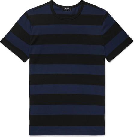 A.P.C. Archie Striped Cotton-Jersey T-Shirt