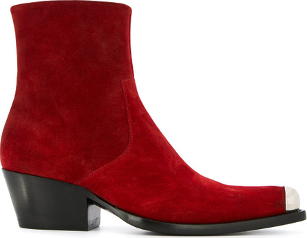 Calvin Klein 205W39NYC Western ankle boots