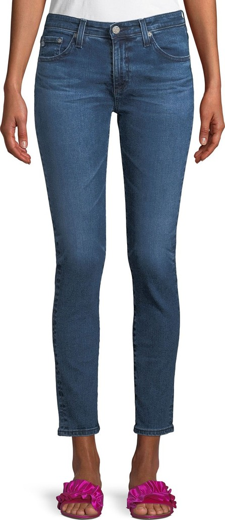 AG Jeans Prima Mid-Rise Ankle Skinny Jeans