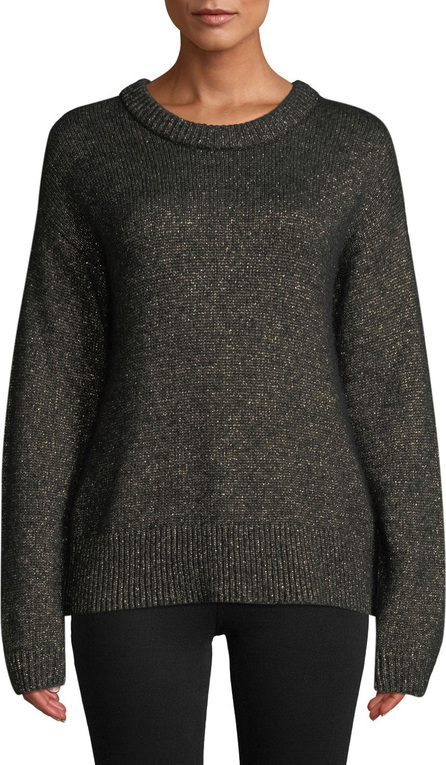 A.L.C. Bowen Metallic Pullover Sweater