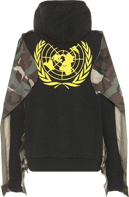 Vetements Cotton-blend hoodie