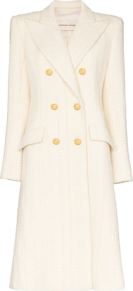 Alexandre Vauthier Structured double-breasted coat