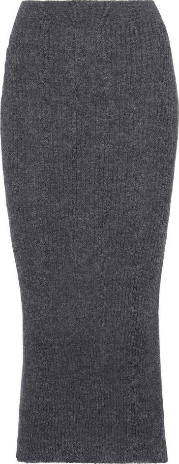 Acne Studios Randa alpaca and wool skirt