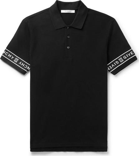 Givenchy Slim-Fit Logo-Jacquard Cotton-Piqué Polo Shirt