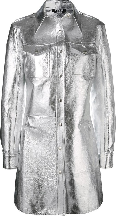 Calvin Klein 205W39NYC Single-breasted fitted coat