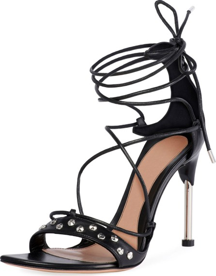 Alexander McQueen Lace-Up Tie High Sandals