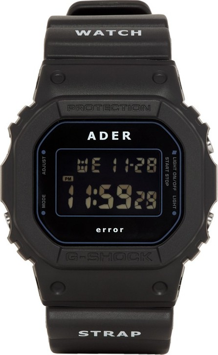 ADER error Black G-Shock Edition Watch