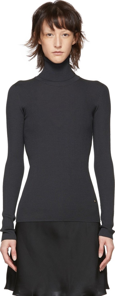 Nina Ricci Grey Wool Turtleneck