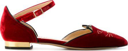 Charlotte Olympia Midcentury Kitty Dorsaye ballerina shoes