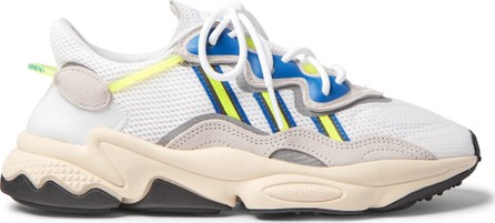 Adidas Originals Ozweego Suede and Mesh Sneakers