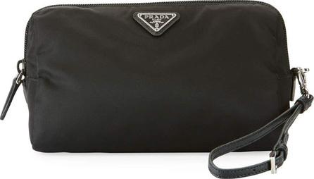 Prada Vela Medium Triangle Cosmetics Bag