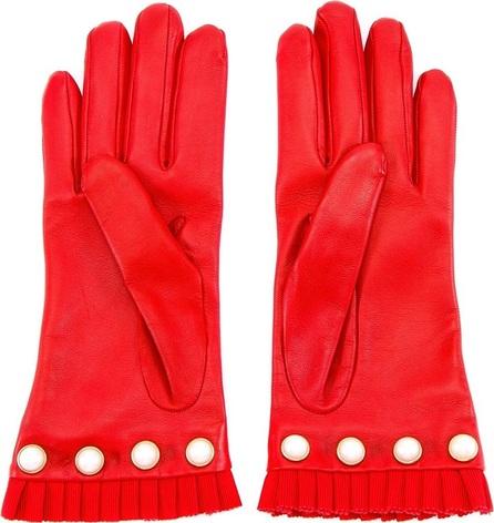 Gucci pearl embellished gloves