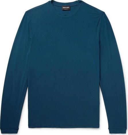 Giorgio Armani Slim-Fit Stretch Tech-Jersey T-Shirt