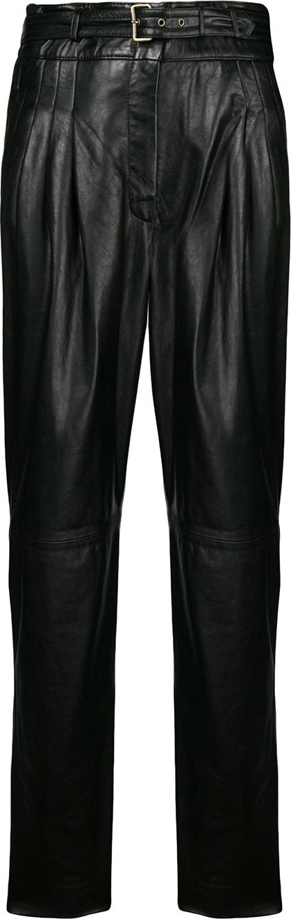 Alberta Ferretti High waisted trousers
