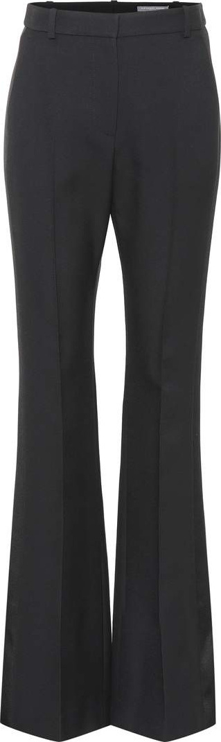 Alexander McQueen Wool and silk-blend pants