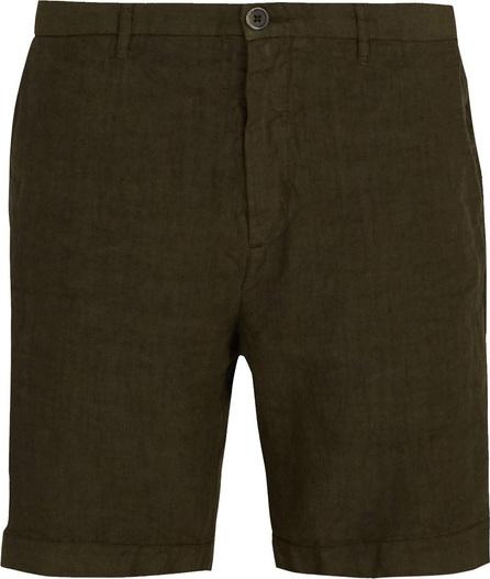 120% Lino Straight-leg linen shorts