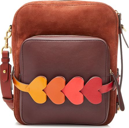 Anya Hindmarch The Stack Tote with Leather and Suede
