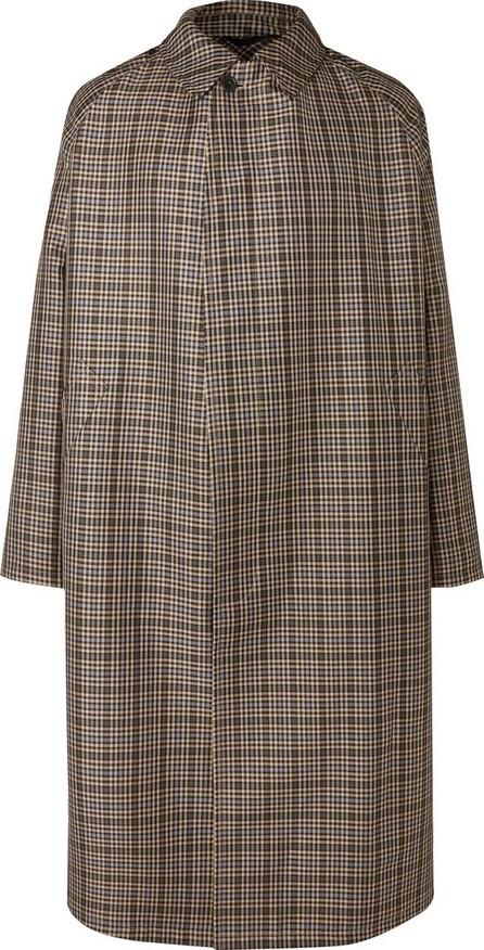 Stella McCartney Oversized Checked Virgin Wool-Blend Coat