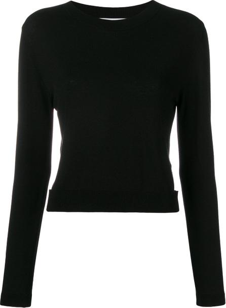 Blugirl Cut out cropped jumper