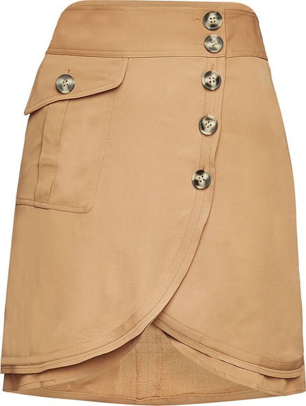 Self Portrait Asymmetric Mini Skirt
