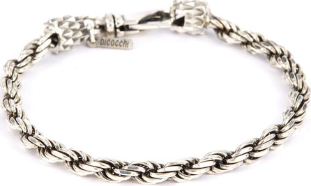 Emanuele Bicocchi French rope chain silver bracelet
