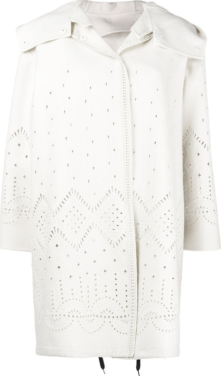 Ermanno Scervino Perforated midi coat