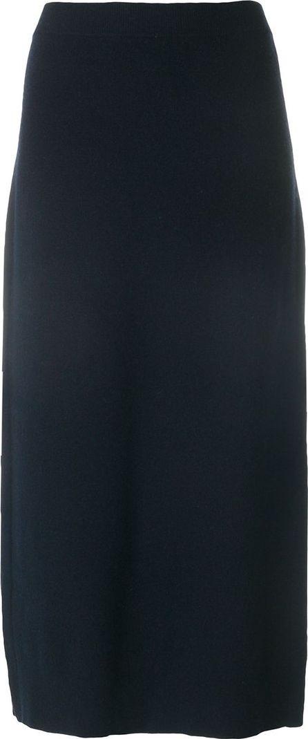 Pringle of Scotland knit side split skirt