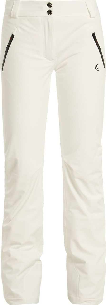 Capranea Denim contrast-zip ski trousers