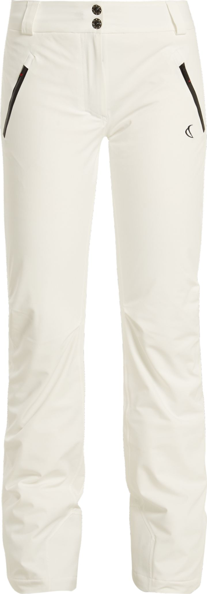 Capranea - Denim contrast-zip ski trousers