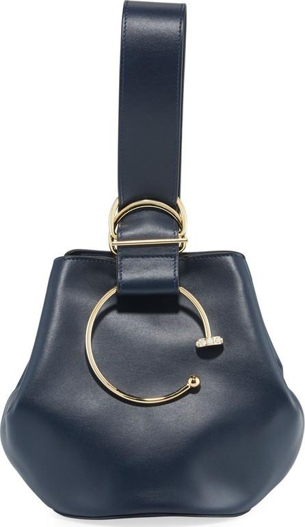 ADEAM Kira Kira Leather Bucket Bag