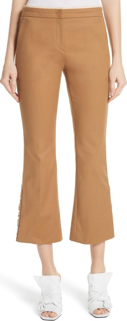 N°21 Nº21 Ruffle Cuff Pants