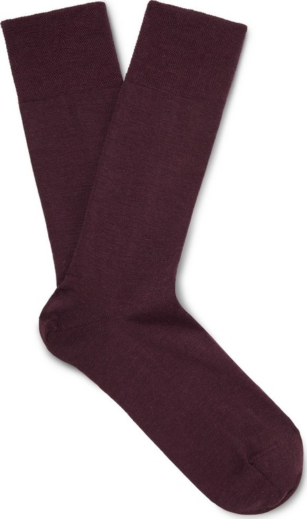 Falke Sensitive Berlin Stretch Virgin Wool-Blend Socks