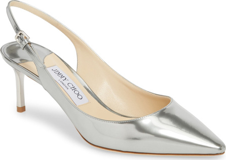Jimmy Choo Erin Metallic Slingback Pump