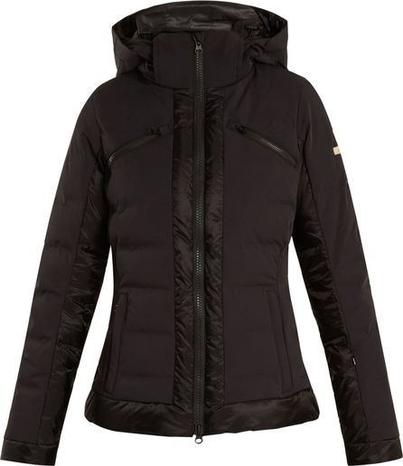 Capranea Trino hooded quilted-down ski jacket